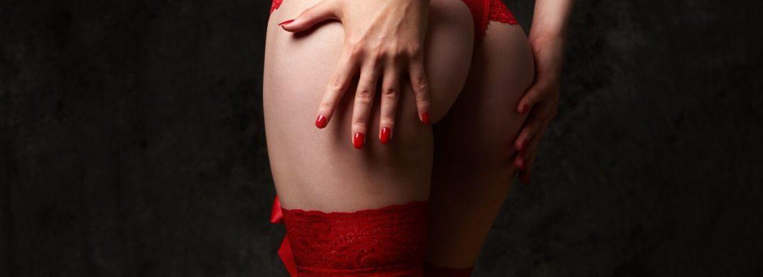 Czerwone stringi